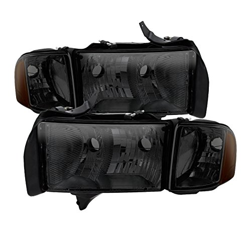 for Dodge Ram Sport Model Only OEM headlights Smoked