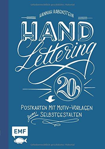Handlettering: 20 Postkarten mit Motiv-Vorlagen zum Selbstgestalten