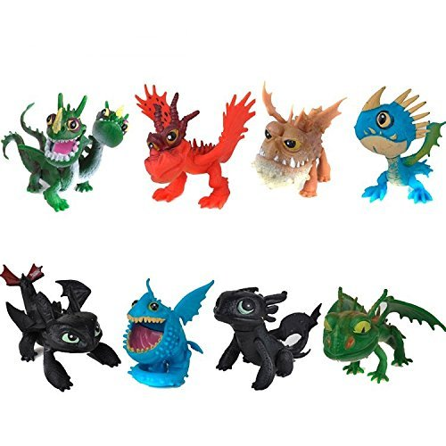 How to Train Your Dragon 2 Dragon Toothless Night Fury Action Figure PVC Doll