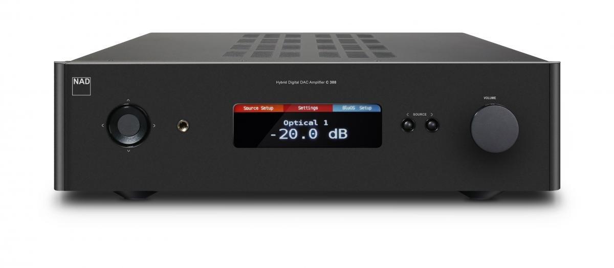 NAD C 388 Negro - Amplificador de Audio (0,009%, 113 dB, 150 W, 150 W, 400 W, 350 W): Amazon.es: Electrónica