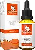 PurOrganica VITAMIN C SERUM for Face - Premium 20% Vitamin C with Hyaluronic Acid - Top Anti Wrinkle, Anti Ageing Face, Eye and Neck Organic Serum - 30ML bottle