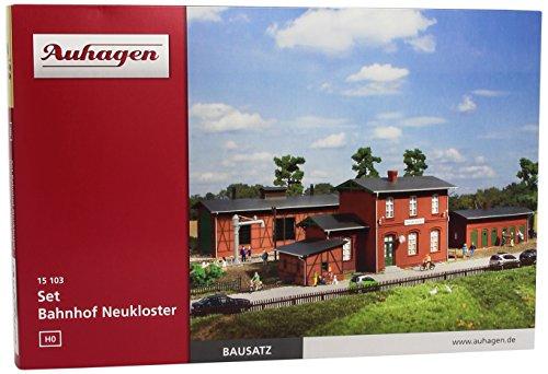 Auhagen - Bahnhöfe & Bahngebäude für Modelleisenbahnen, Größe One size