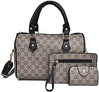 Korean 3in1 sling bag and handbag for women EHB302 BLACK