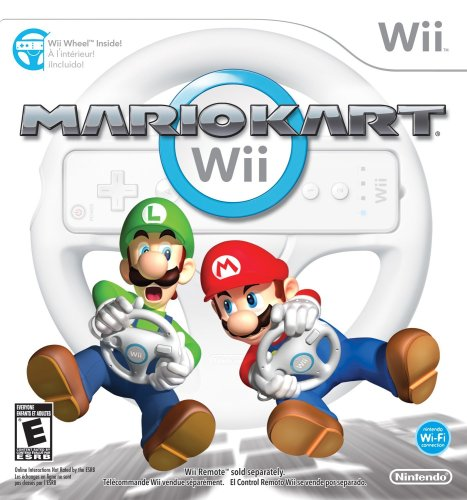 Product Image of the Mario Kart Wii with Wii Wheel