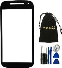 Mencia Cell Phone Replacement Phone Screen Glass Replacment Assembly Kit For Motorola Moto E 2nd Gen E2 XT1505 XT1511 XT1527 (Black)