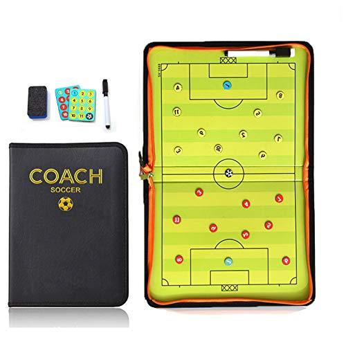 Joyeee Tableau Tactique, Entraîneur de Football Conseil Tactics Plate Tactique, Magnétique...