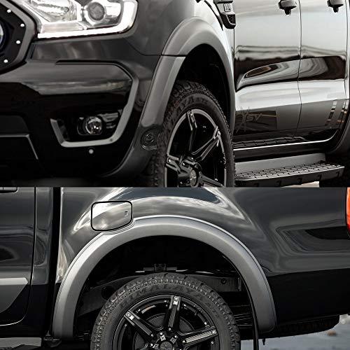 Slim Wheel Arch Kotflügel Kotflügelverbreiterungen für Ford Ranger Wildtrak T7 T8 2012-2020 MK2 MK3 XL XLT...