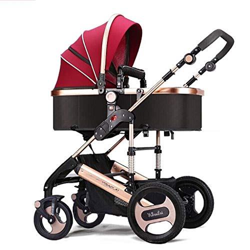 Pasgeboren baby kinderwagen Bassinet Omkeerbare kinderwagen kinderwagen, opvouwbare Convertible Carriage Bassinet stoel baby kinderstoel