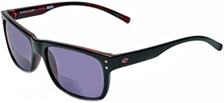rainbow safety ecoclear occhiali da sole per lettura bifocali asp blk  (+1.25d) : amazon.it: moda  amazon.it