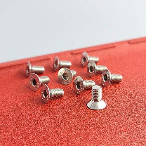 Disc Brake Rotor Screws - Replacement For Honda Acura - (10 Pack)