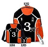 HMJZ Bolso De Escuela del Estudiante Juego De Voleibol 3D Boy Láminas Primaria Niños Mochila para Principiantes Y Alumnos,B