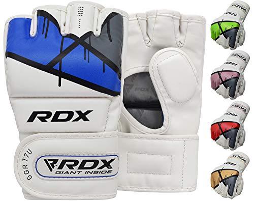 RDX Maya Guantes MMA Ocultar Grappling Cuero UFC Lucha Contra La Jaula De Sparring T7 Entrenamiento Guante