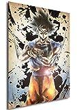 Poster Dragon Ball Wanted Goku Ultra Istinct - A3 (42x30