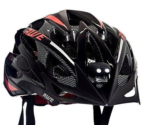 Sport Direct Mega Mini LED Bicyclette Casque Sets d'éclairage Avant et arrière