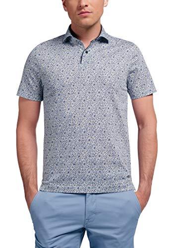 eterna Kurzarm Poloshirt Slim Fit Jersey Bedruckt
