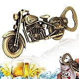 Vintage Motorrad Flaschenöffner, Motorrad Bier Flaschenöffner Metall, Barkeeper Bierflaschenöffner Flaschenöffner für Bar Party Trinkspiel, Einzigartiges Motorrad-Biergeschenk Geschenke für Männer