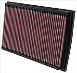 K&N 33-2221 Filtro de Aire Coche, Lavable y Reutilizable