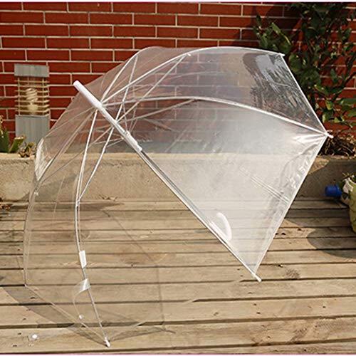 LED-Lichtschirm. Kreativer Blitzschirm mit langem Griff. 8 Knochen-bunter leuchtender Regenschirm, Regenschirm mit geradem Griff. Transparentes Umbrella.Product Material: Plastik, Auswirkung-Tuch