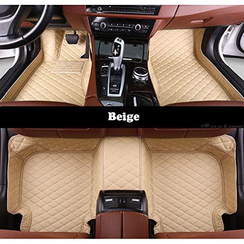 WHJIXC Für BMW g30 x3 f25 f31 x5 f15 x1 e84 x1 f48 x4 x3 e83 x6 e71 z4 e85 f01, benutzerdefinierte Auto Fußmatten alle Modelle Auto Matten Teppich Auto