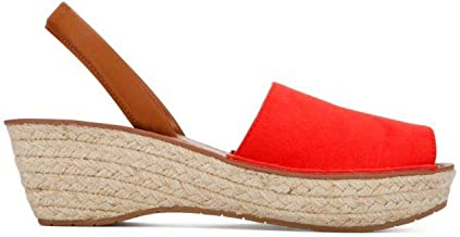 Kenneth Cole REACTION Women's Fine Glass Espadrille Slingback Wedge Sandal