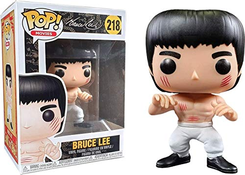 Funko Pop! Movies #218 Bruce Lee White Pants and Scars (Bait Exclusive)