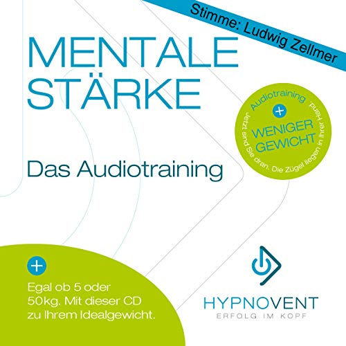 Abnehmen mit Hypnose CD, Gewichtsreduktion ohne Sport, schnell und einfach Fett verlieren, Original von HYPNOVENT