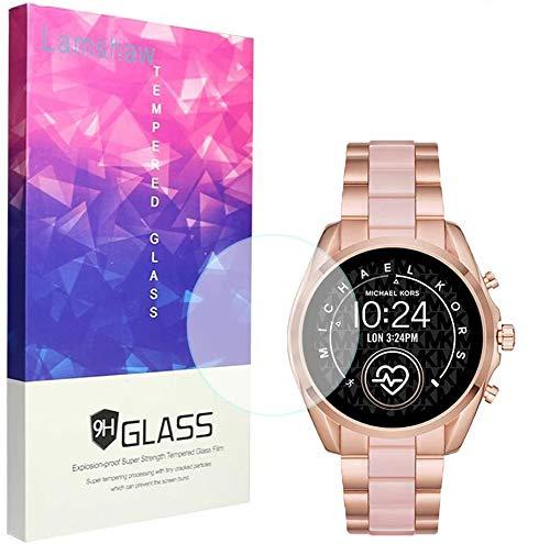 Ceston Displayschutzfolie aus gehärtetem Glas für SmartWatch Michael Kors Bradshaw 2