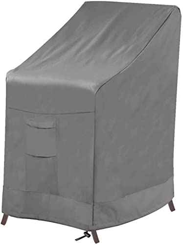 Vailge Stackable Patio Chair Cover,100% Waterproof Outdoor Chair Cover, Heavy Duty Lawn Patio Furniture Covers,Fits f...