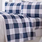 Best Flannel Sheets - Great Bay Home 4 Piece Extra Soft Buffalo Review
