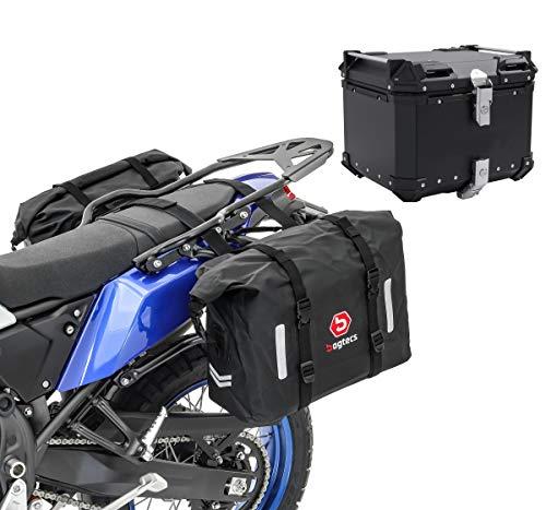 Borse Laterali Set per Yamaha XT 660 Z Tenere + Bauletto laterales WP8