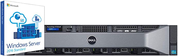 Dell PowerEdge R730XD Legal Server for Case Management Databases, 2 Intel Xeon 3.4GHz 6-Core, 128GB RAM, 4.8TB SAS SSD, 10.8TB SAS HDD, RAID, Remote Access, Windows 2016