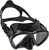 Cressi Tauchmaske Lince Low Volume Made In Italy Gafas de Buceo, Unisex, Negro, Talla única