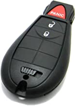 OEM Dodge Keyless Entry Remote Fob 3-Button Fobik Smart Key (FCC ID: GQ4-53T / P/N: 56046953)