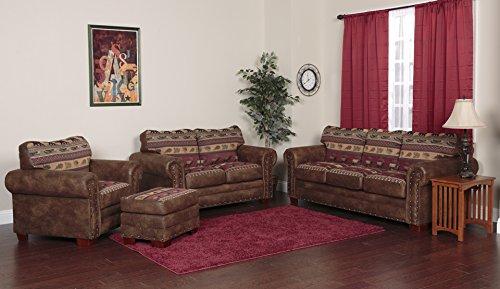 American Furniture Classics 4-Piece Sierra Lodge Sofa