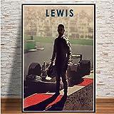 JIUJIUJIU Berühmte Rennfahrer Levis Vintage Poster und