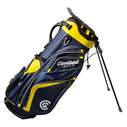 Cleveland CG Cart 2019 Saturday - Golf Stand Bag NVY/YLW