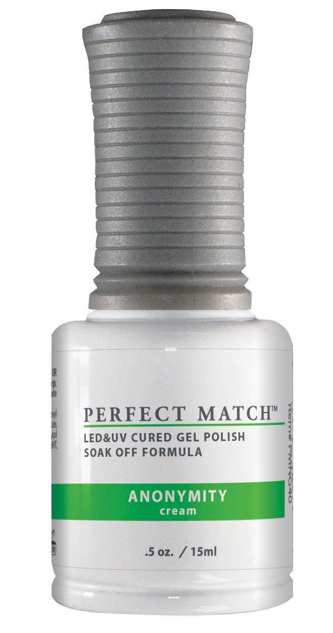LECHAT Perfect Match Nail Polish, Anonymity, 2- 0.5 Ounce