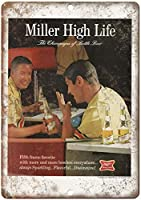 Miller High Life Bottle Beer ティンサイン ポスター ン サイン プレート ブリキ看板 ホーム バーために