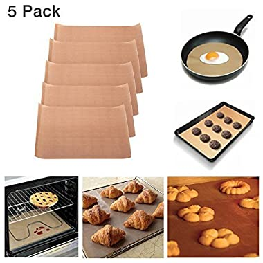 WEISIPU Non Stick Barbecue mat, Baking mat.Professional Baking mat with high Temperature Resistance FDA-Approved,Reusable and Easy to Clean - Works on Gas, Charcoal, Electric Grill