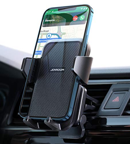 【Upgrade Clip】 Cell Phone Holder for Car Air Vent, Joyroom【Triangle Stable】 Magsafe Car Phone Mount, 360 Adjustable Universal Phone Car Mount Fit for iPhone SE 12 11 Pro Max X XS XR 8 Plus 7 and More