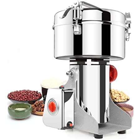 500G Electric Coffee Bean Nut Spice Grinder Mill Grains Food Grinding Machine
