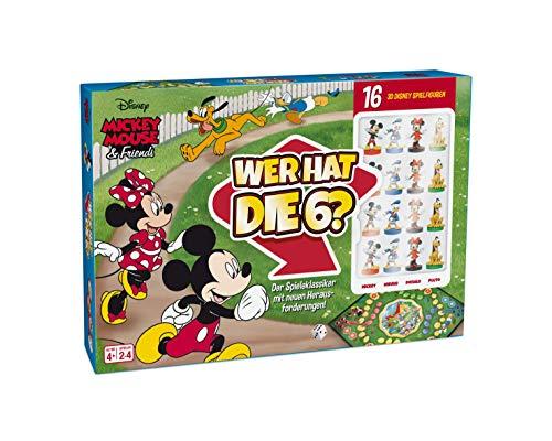ASS 22501060 Mickey Mouse & Friends-Wer hat die 6-Der Spieleklassiker mit detailgetreuen 3D Disney Spielfiguren