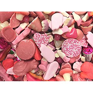 pink sweet assortment 500g pink sweets Pink Sweet Assortment 500g Pink Sweets 51PYgsETWjL