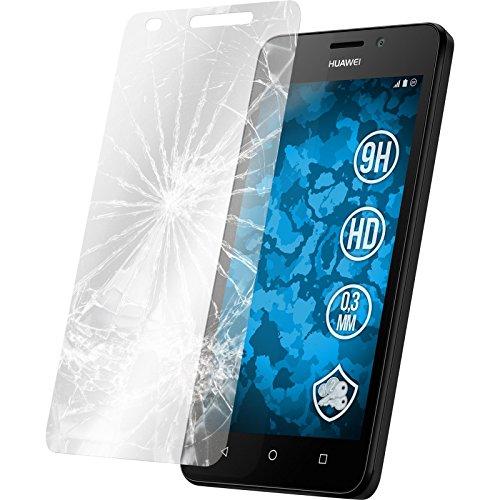 PhoneNatic 1 x Glas-Folie klar kompatibel mit Huawei Y635 - Panzerglas für Y635