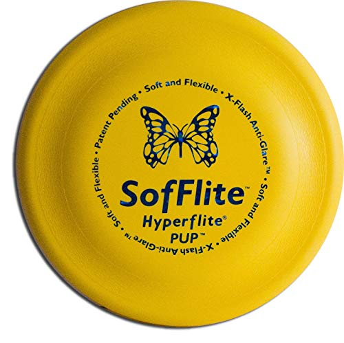 Hyperflite K-10 SofFlite Dog Disc 8.75 Inch, Ultra-Soft for Canines with Sensitive Mouths, Best Flying, Dog Frisbee, Competition Grade, Outdoor Flying Disc Training