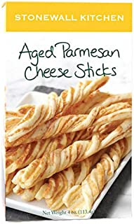 Stonewall Kitchen Aged Parmesan Cheese Sticks, 4 Ounce Box
