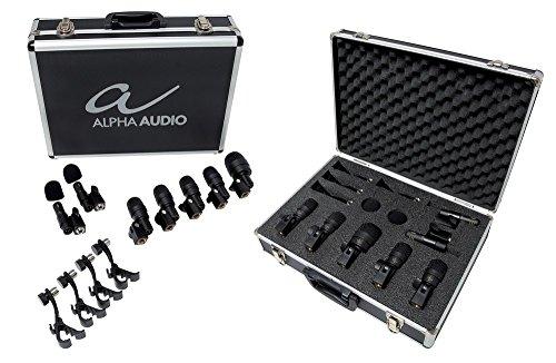 Alpha Audio MIC Drumbox 7 - Set de micrófono