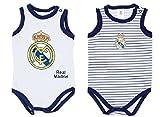ck 2 Bodys REAL MADRID para Bebé Tirantes (24 MESES)