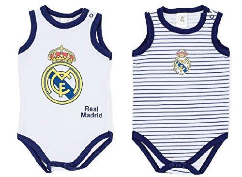 Real Madrid CK 2 Bodys Bebé Tirantes (18 Meses)