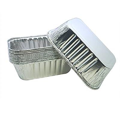 MYStar Disposable Aluminum Foil, Mini Pie/Tarts/Muffin Baking Cups